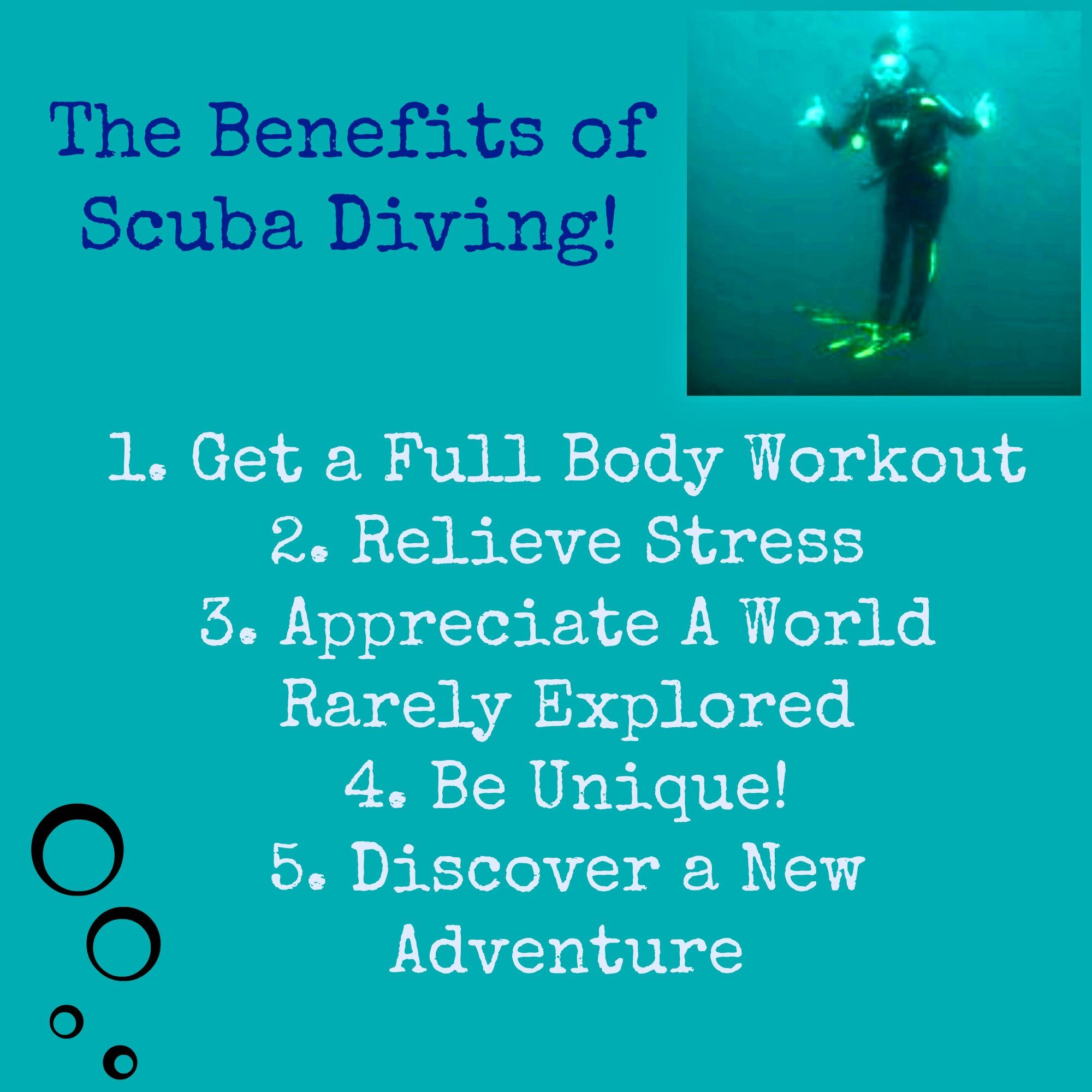Top 5 Benefits Of Scuba Diving